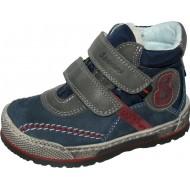 Modro-sivé zimné topánky Szamos