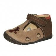 Hnedé sandálky Szamos